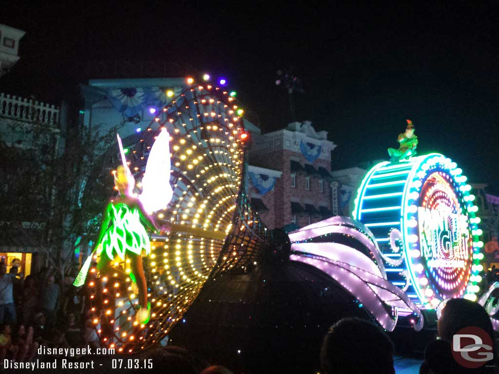 Time for #PaintTheNight #Disneyland60