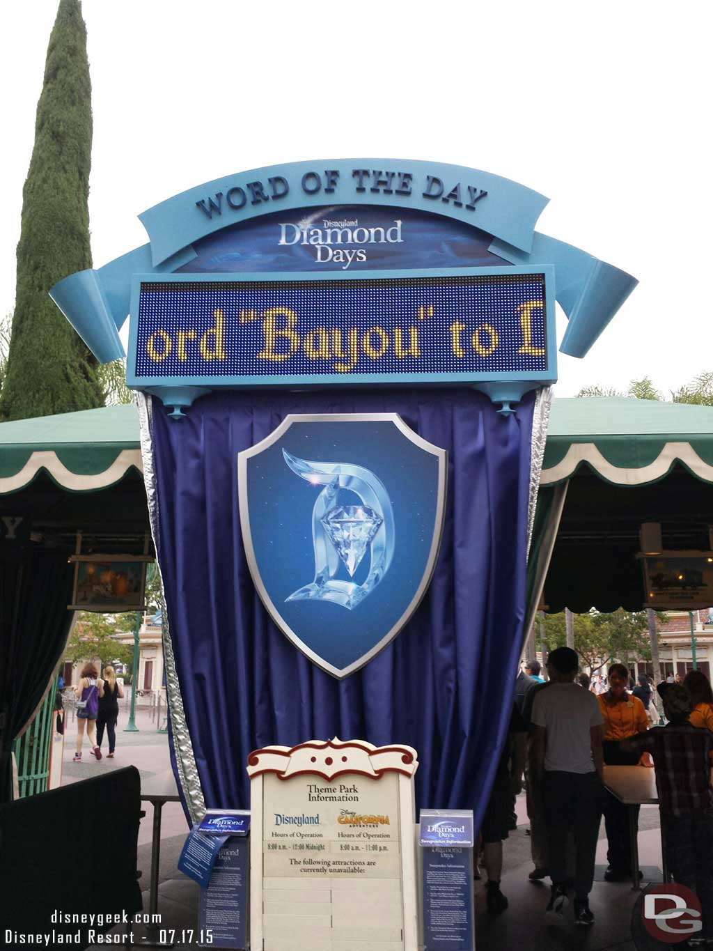 #Disneyland60 Word of the Day