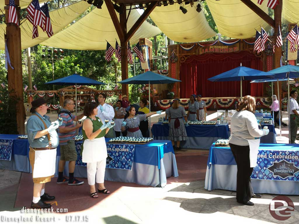 Plenty of cupcakes still in the Big Thunder Ranch #Disneyland60