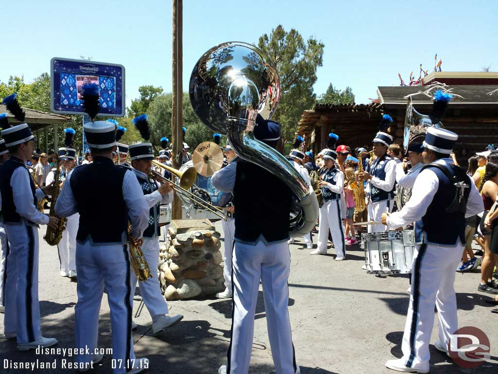#Disneyland Band in Frontierland