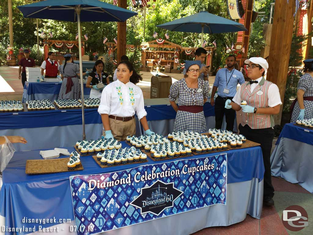 #Disneyland60 Cupcakes are still available in the Big Thunder Ranch Jamboree