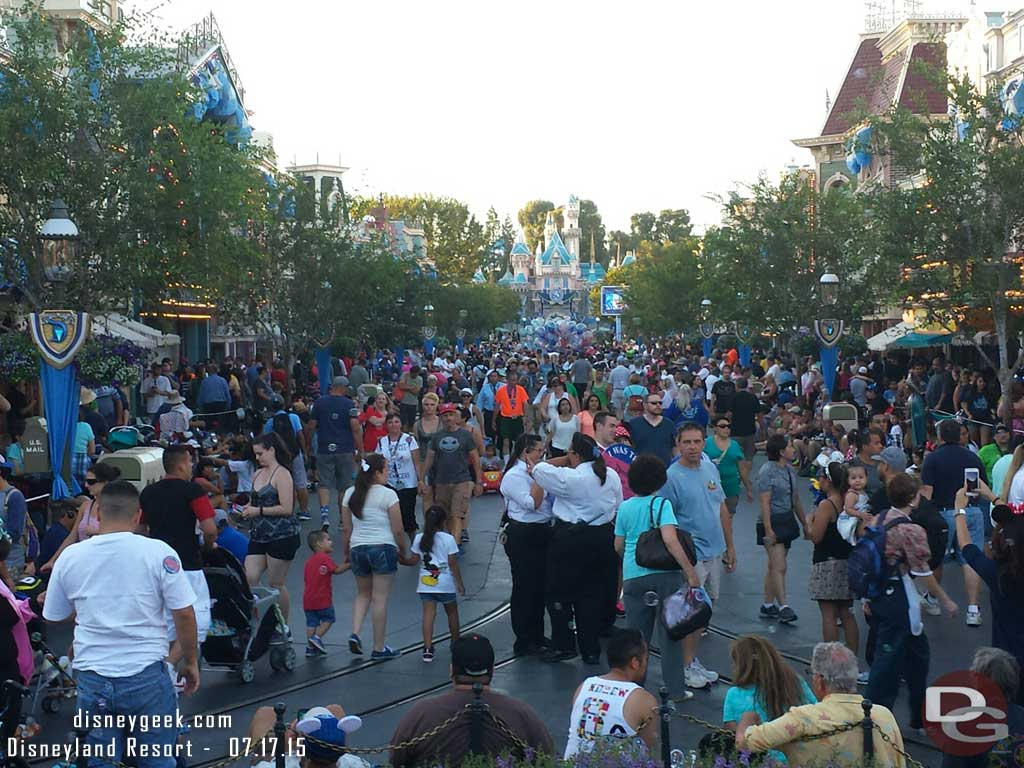 #Disneyland Main Street USA this evening