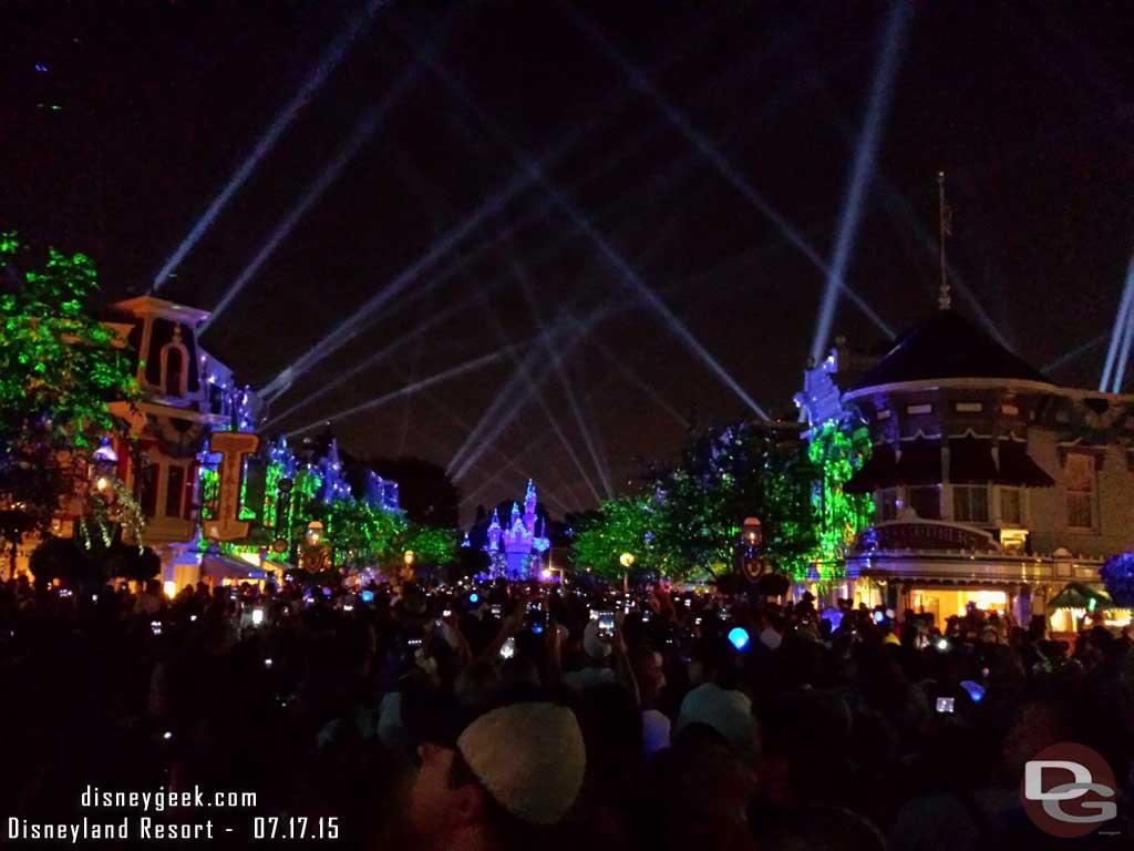 #DisneylandForever to conclude my day @DisneylandToday #Disneyland60