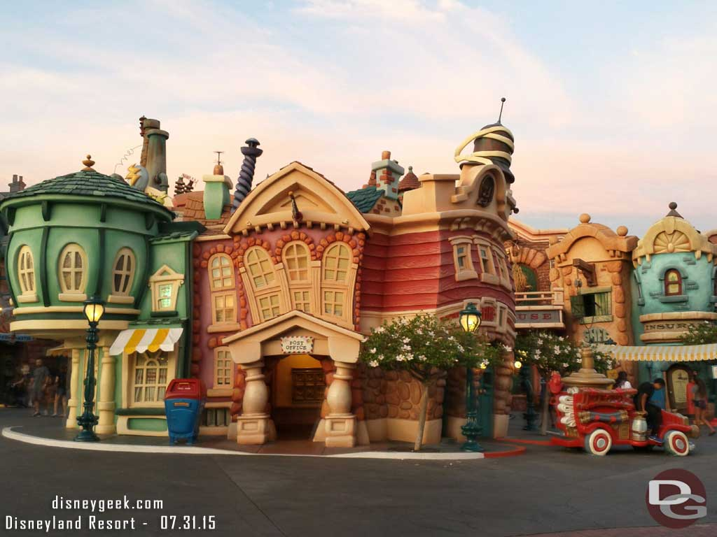 #Toontown Post Office #Disneyland