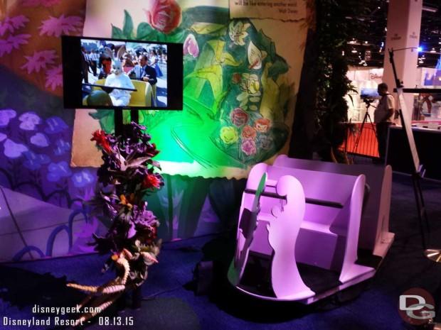 Alice in Wonderland Ride Vehicle - Walt Disney Archives Presents - Disneyland: The Exhibit