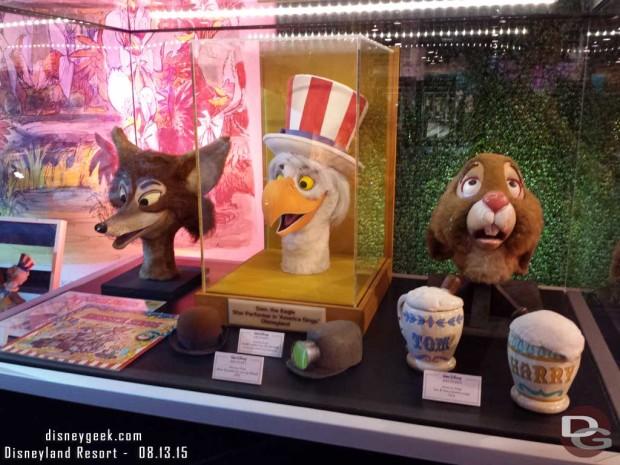America Sings items - Walt Disney Archives Presents - Disneyland: The Exhibit