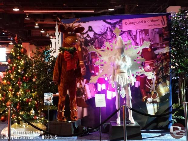 Christmas Fantasy costumes - Walt Disney Archives Presents - Disneyland: The Exhibit