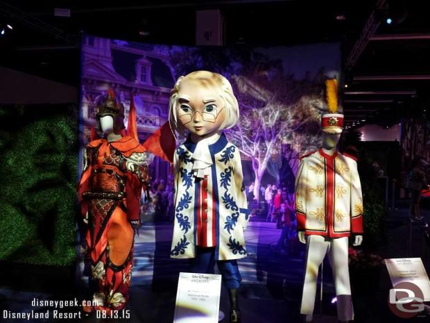 America on Parade & Disneyland Band Costume - Walt Disney Archives Presents - Disneyland: The Exhibit