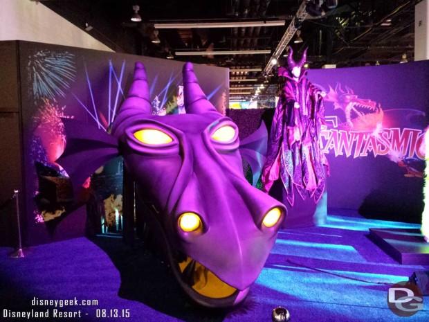 Fantasmic Original Dragon - Walt Disney Archives Presents - Disneyland: The Exhibit