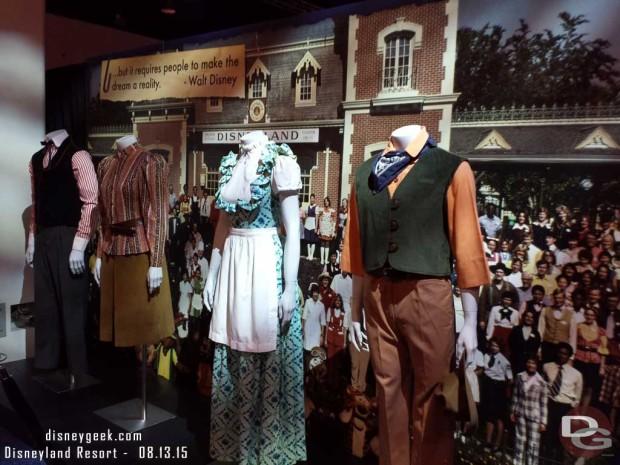 Cast Member Costumes - Walt Disney Archives Presents - Disneyland: The Exhibit