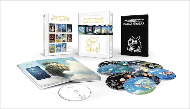 The Collected Works Of Hayao Miyazaki on Blu-ray Nov. 17, 2015