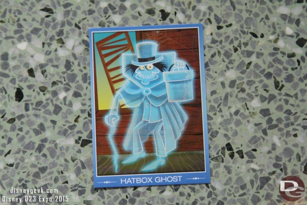 The D23 Expo Hatbox Ghost Trading Card