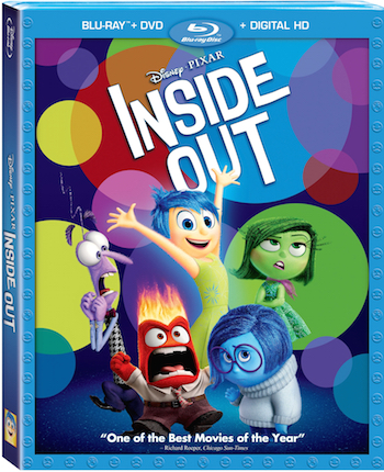 Disney-Pixar Inside Out Coming to Blu-ray 11/3 & Disney Movies Anywhere 10/13