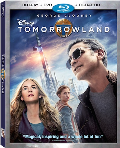 Disney Tomorrowland on home video October 13, 2015