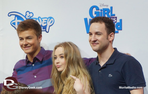 Girl Meets World Cast at D23 Expo