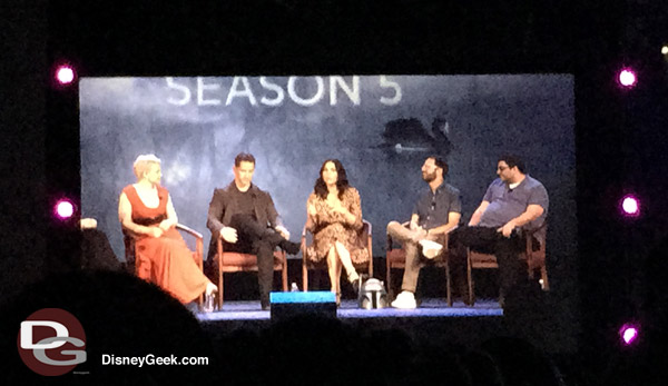 Once Upon a Time Panel at D23 2015