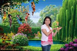 Tinkerbell Green Screen