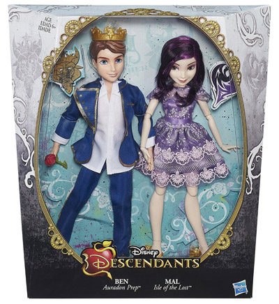 Descendants Doll - Ben and Mal