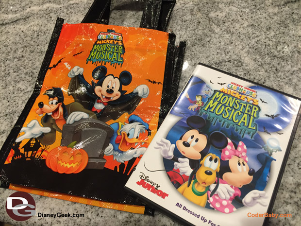 Mickey's Monster Musical Tote Bag