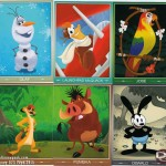 Some of the D23 Expo trading cards I managed to collect