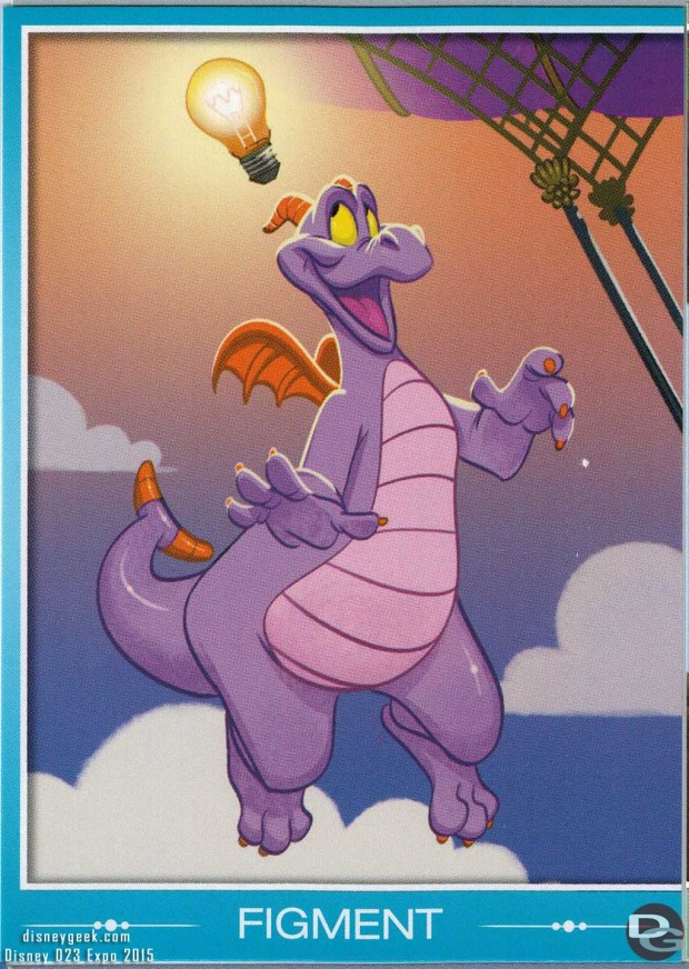 Figment... I did not succeed in getting Dreamfinder though...