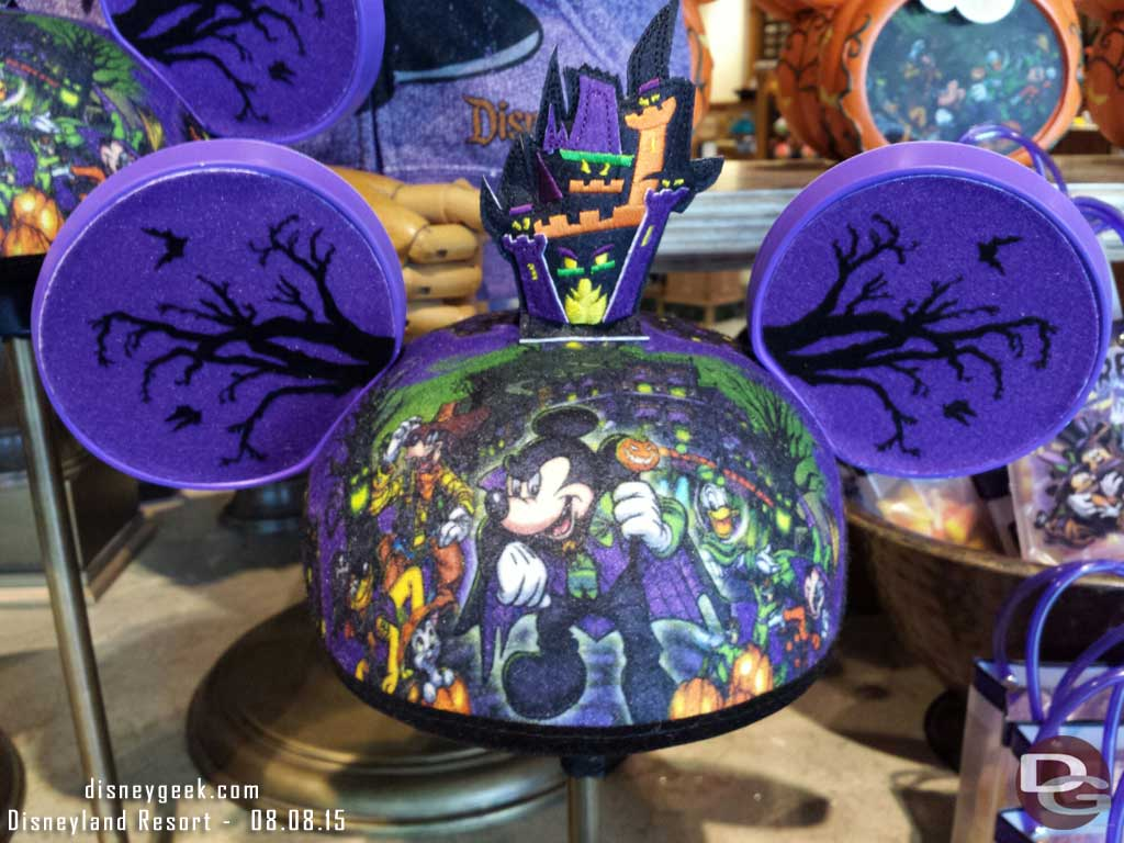 Halloween mouse ears in the Five & Dime #BuenaVistaStreet