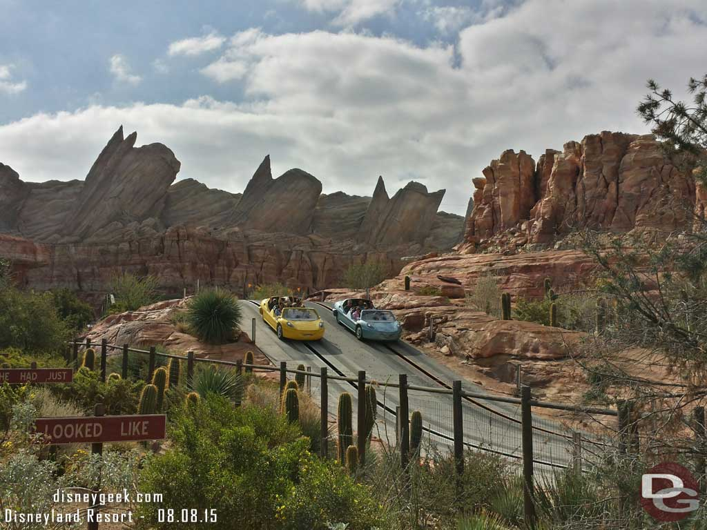 Ornament Valley this morning #CarsLand