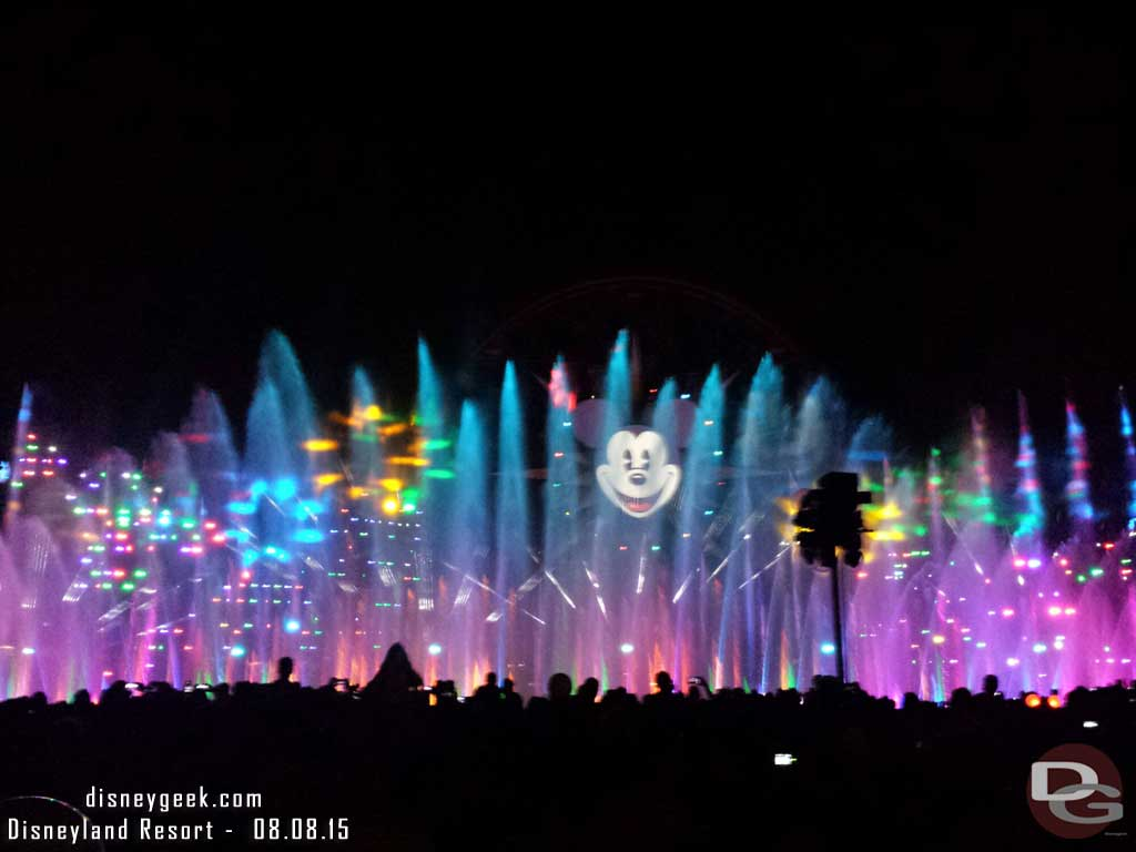 Time for World of Color Celebrate #Disneyland60