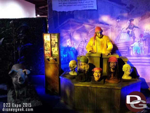 Pirates of the Caribbean - Walt Disney Archives Presents - Disneyland: The Exhibit