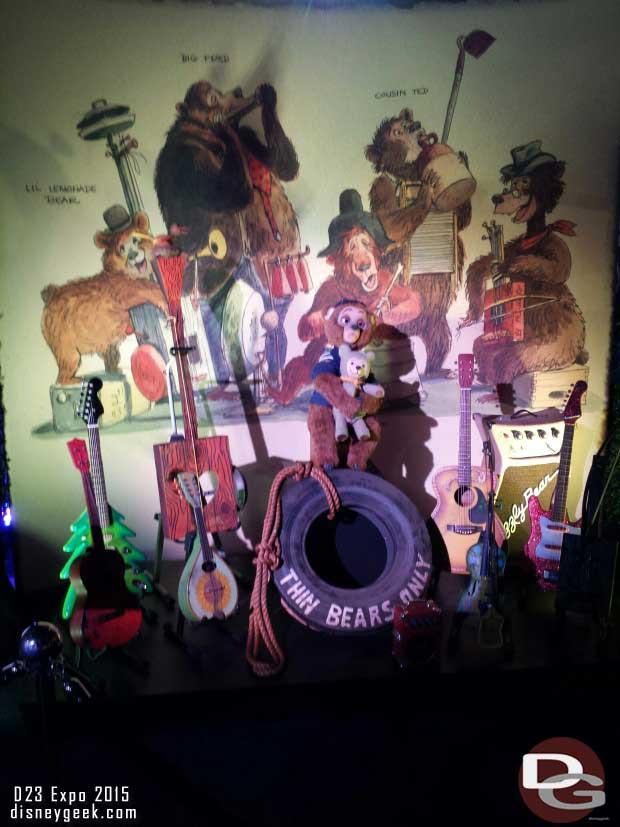 Country Bear Jamboree - Walt Disney Archives Presents - Disneyland: The Exhibit