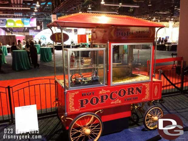 Disneyland Popcorn Cart - Walt Disney Archives Presents - Disneyland: The Exhibit
