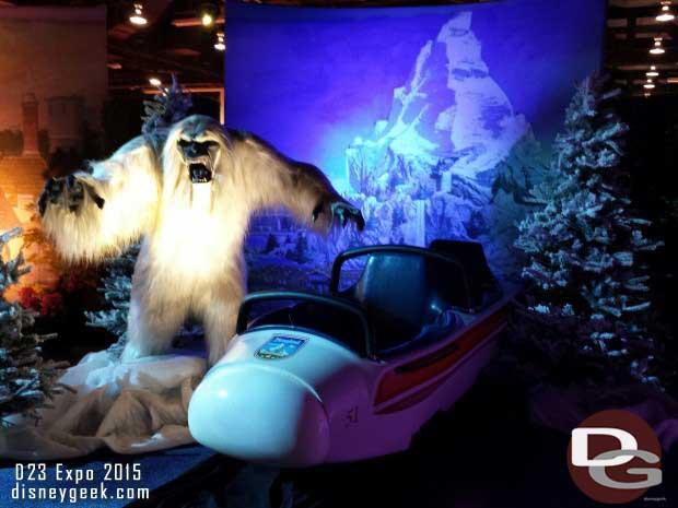 Matterhorn Bobsled & Harold - Walt Disney Archives Presents - Disneyland: The Exhibit
