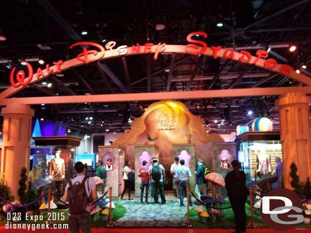 Disney Studios on the show floor
