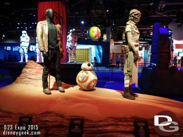 Star Wars on the show floor