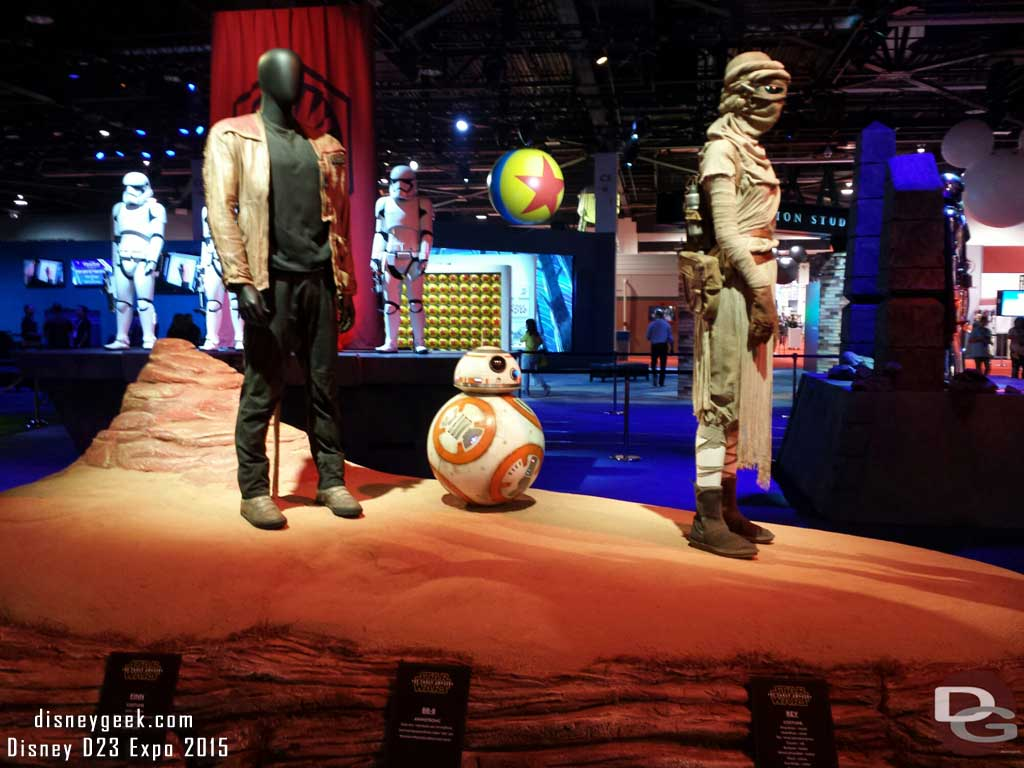 #StarWars at the Studios area #D23Expo