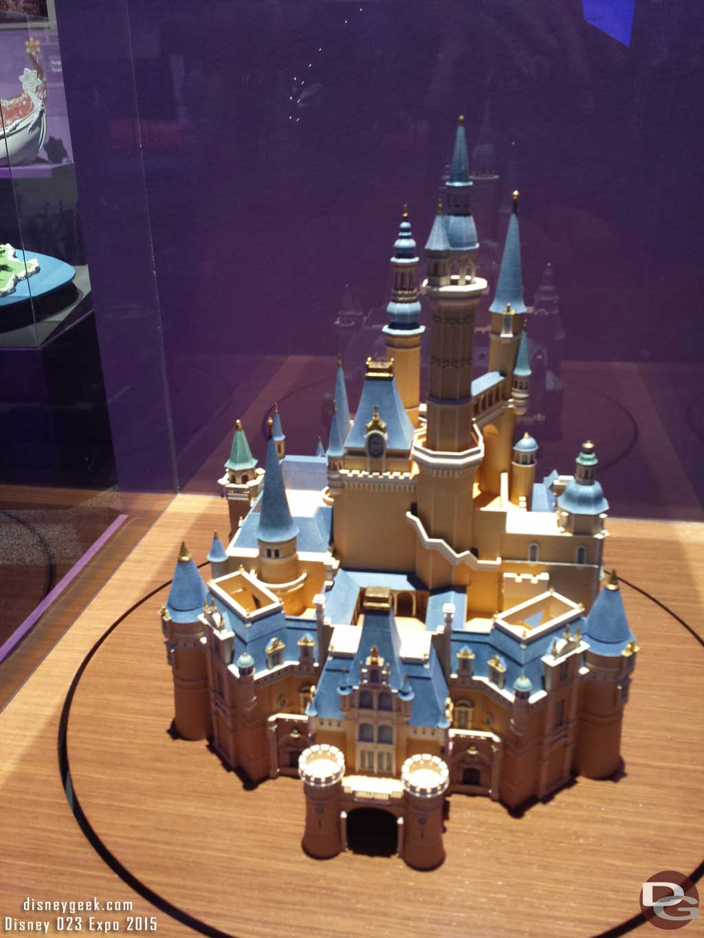 #ShanghaiDisneyland Castle Model #D23Expo