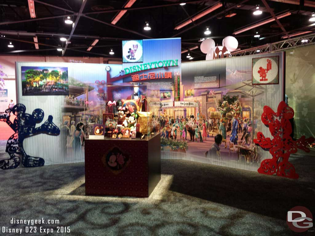 #ShanghaiDisneyland Disney Town #D23Expo