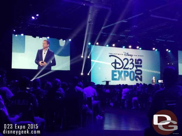 Disney Legends Ceremony - Bob Iger opening the ceremony