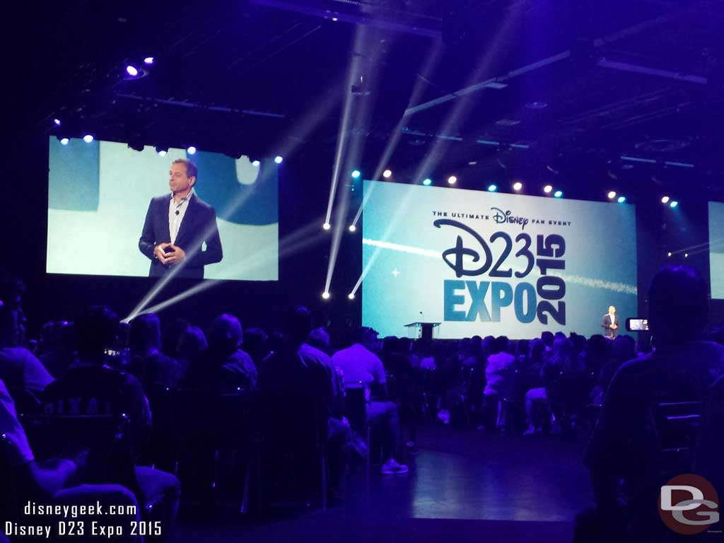 Disney Legends Ceremony - Bob Iger opening the ceremony