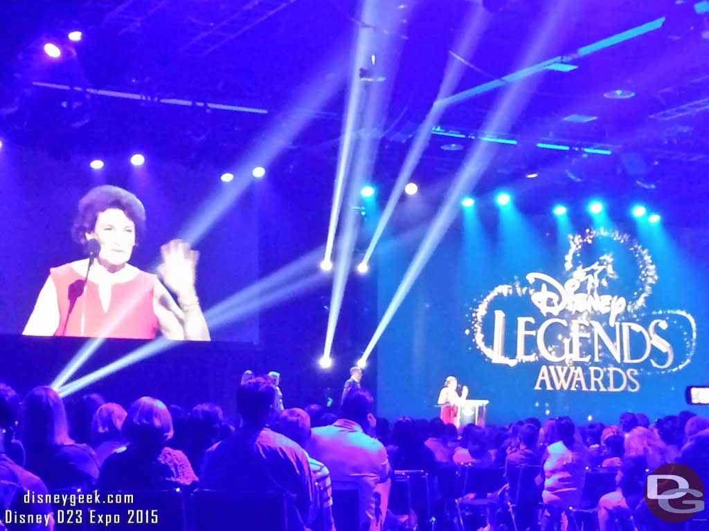 #DisneyLegends – Julie Reihm Casaletto #D23Expo