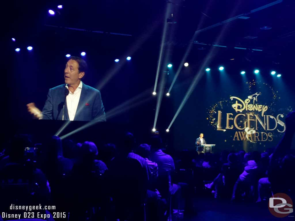 #DisneyLegends George Bodenheimer #D23Expo