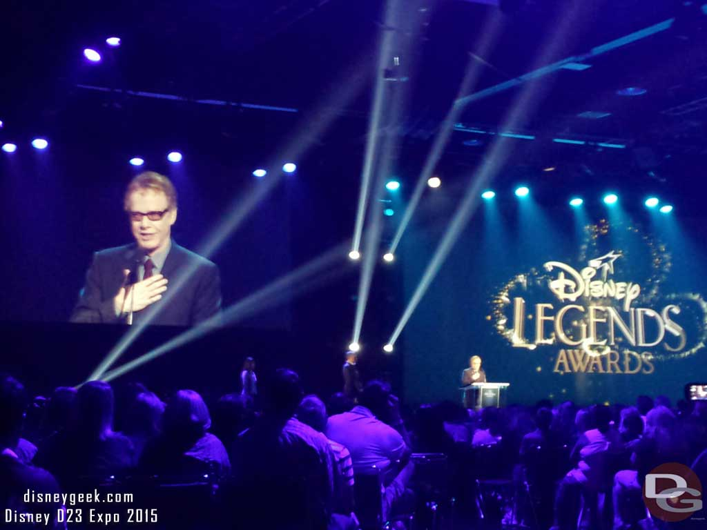 #DisneyLegends Danny Elfman #D23Expo