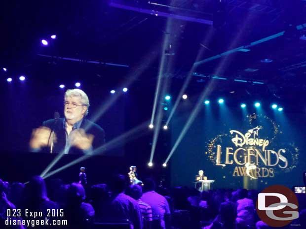 Disney Legends Ceremony - George Lucas