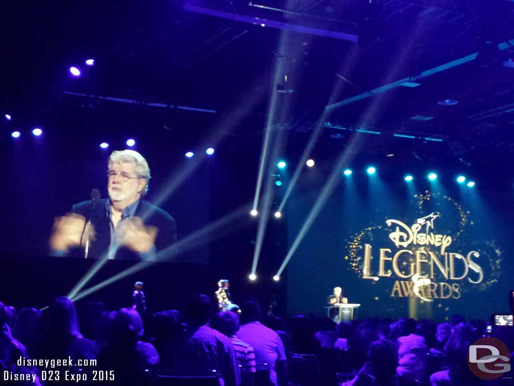 #DisneyLegends George Lucas #D23Expo