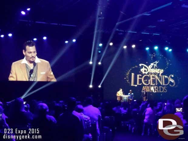 Disney Legends Ceremony - Johnny Depp