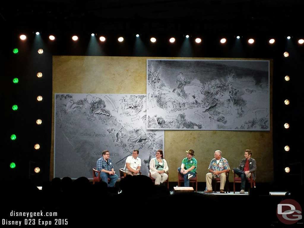 The Jungle Cruise panel #D23Expo