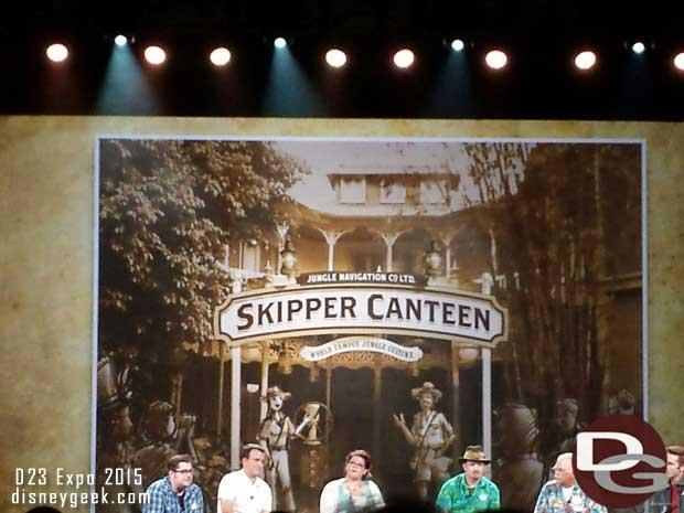 The new Skipper Canteen opening at Walt Disney World Magic Kingdom