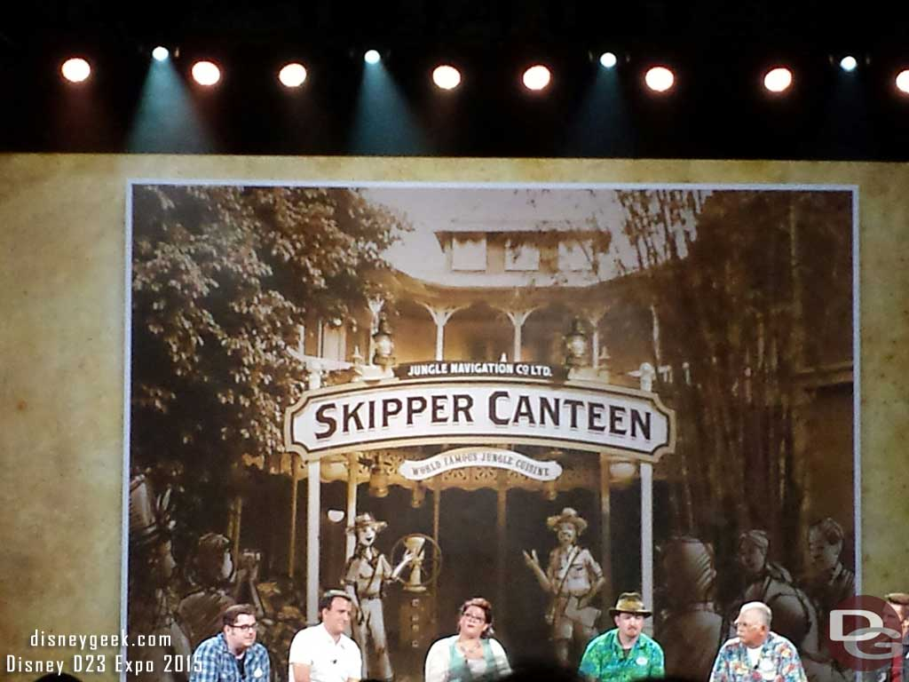 Jungle Navigation co Skipper Canteen to open at #WDW Magic Kingdom this winter #D23Expo