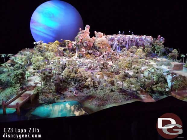 Avatar the World of Pandora model by day