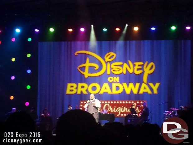 Disney on Broadway the Originals
